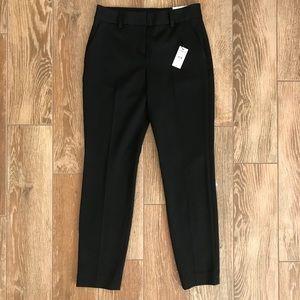 Express columnist ankle dress pants in black